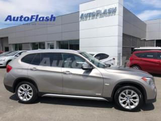 Used 2012 BMW X1 xDrive Premium *Bluetooth *GPS *Toit-Pano-Roof for sale in St-Hubert, QC