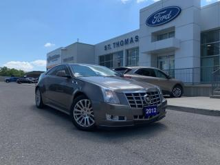 Used 2012 Cadillac CTS for sale in St Thomas, ON