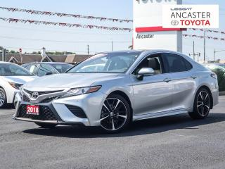 Used 2018 Toyota Camry XSE  SINGLE OWNER// ACCIDENT FREE// LOW MILEAGE for sale in Ancaster, ON