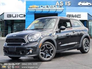Used 2014 MINI Cooper Paceman Cooper S AS TRADED | One owner! for sale in Burlington, ON