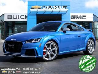 Used 2018 Audi TT RS 2.5T Top condition! | 400HP! for sale in Burlington, ON