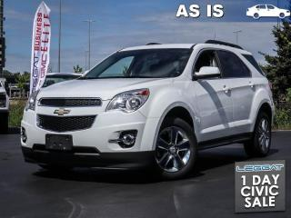 Used 2012 Chevrolet Equinox 2LT AS TRADED | Heated seats! for sale in Burlington, ON