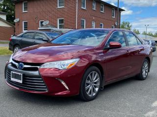 Used 2017 Toyota Camry HYBRID HYBRID XLE+XTRA WARRANTY-100,000 KMS! for sale in Cobourg, ON