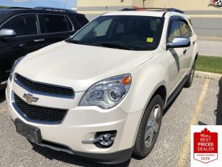 Used 2014 Chevrolet Equinox AWD LTZ 4CYL LEATHER SUNROOF POWER LIFTGATE for sale in Orillia, ON