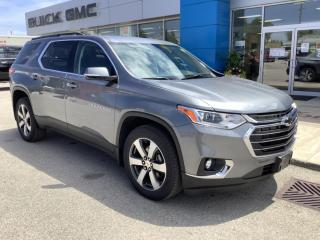 New 2020 Chevrolet Traverse 3LT for sale in Listowel, ON