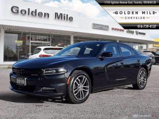 Used 2019 Dodge Charger SXT Clean Carfax, All Wheel Drive, Leather, Sunroof for sale in North York, ON