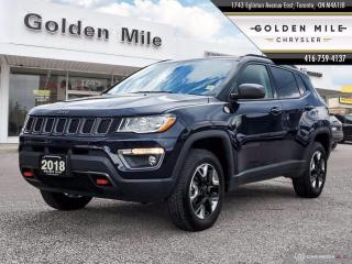 Used 2018 Jeep Compass Trailhawk Clean Carfax, Navigation, Leather for sale in North York, ON