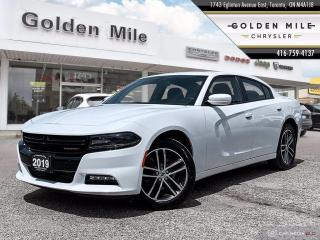 Used 2019 Dodge Charger SXT Leather, Back-Up Camera, Navigation, Blind Spot Monitor, Sunroof for sale in North York, ON