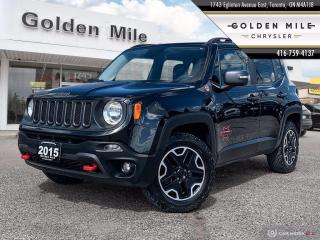 Used 2015 Jeep Renegade Trailhawk Elite, Clean CarFax, Leather, Navigation, Power Driver Seat for sale in North York, ON