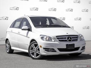Used 2011 Mercedes-Benz B-Class Turbo B 200 2.0L I4 SOHC 8V Turbocharged FWD CVT for sale in Oakville, ON