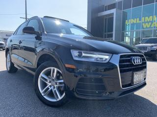 Used 2016 Audi Q3 2.0T Komfort FWD with dual panel roof for sale in Chatham, ON
