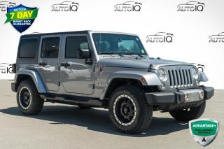 Used 2016 Jeep Wrangler Unlimited Sahara VERY CLEAN LOW MILEAGE CAR for sale in Innisfil, ON
