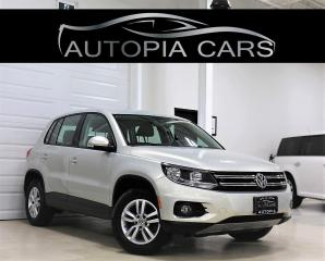 Used 2014 Volkswagen Tiguan 4MOTION COMFORTLINE ALL WHEEL DRIVE AUTOMATIC for sale in North York, ON