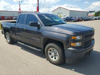 Used 2014 Chevrolet Silverado 1500 4WD Work Truck Bluetooth, Running Boards, Bedliner for sale in Ingersoll, ON