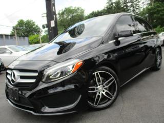 Used 2017 Mercedes-Benz B-Class B250 4MATIC|AMG PKG|49KM|NAVIGATION|PANORAMA ROOF for sale in Burlington, ON