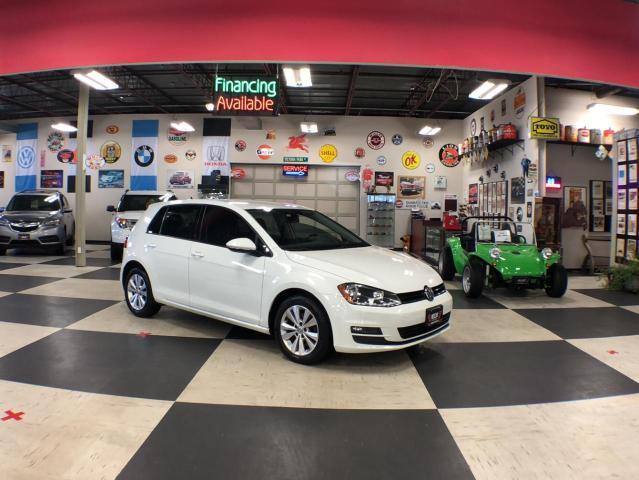 2017 Volkswagen Golf 1.8TSI COMFORTLINE AUT0 A/C LEATHER H/SEATS BACKUP CAMERA