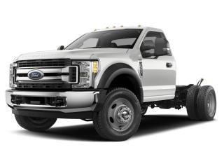 New 2020 Ford F-550 4X4 CHASSIS CAB DRW/ for sale in Winnipeg, MB