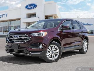 New 2020 Ford Edge -sel for sale in Winnipeg, MB