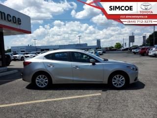 Used 2015 Mazda MAZDA3 GS  - Bluetooth - $92 B/W for sale in Simcoe, ON