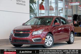 Used 2016 Chevrolet Cruze LT AUCUN ACCIDENT! for sale in Lachine, QC