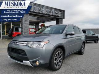 Used 2015 Mitsubishi Outlander GT for sale in Bracebridge, ON