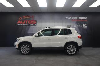 Used 2016 Volkswagen Tiguan HIGHLINE 4MOTION CUIR TOIT PANO GPS NAV CAM FENDER for sale in Lévis, QC