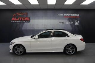 Used 2016 Mercedes-Benz C-Class C300 4MATIC SPORT PKG + PREMIUM PKG CUIR TOIT GPS for sale in Lévis, QC