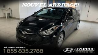 Used 2014 Hyundai Elantra GL +  GARANTIE + A/C + CRUISE + GR. ÉLÉC for sale in Drummondville, QC