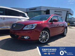Used 2015 Buick Verano Leather FWD | Bose Audio | Sunroof | Navigation for sale in Winnipeg, MB