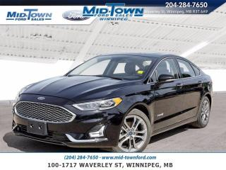 Used 2019 Ford Fusion Hybrid Titanium FWD for sale in Winnipeg, MB