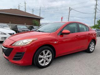 Used 2010 Mazda MAZDA3 GS, AUTO, A/C, BLUETOOTH, ALLOYS, 186 KM for sale in Ottawa, ON