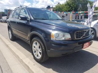 Used 2007 Volvo XC90 AWD-EXTRA CLEAN-7 SEATS-SUNROOF-ALLOYS for sale in Scarborough, ON