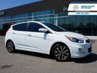 Used 2016 Hyundai Accent 1 OWNER | WINTER TIRES | SUNROOF  - $75 B/W for sale in Brantford, ON