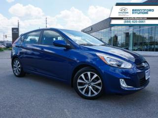 Used 2017 Hyundai Accent SUNROOF | FULLY SERVICED HERE  - $84 B/W for sale in Brantford, ON