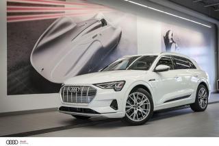 Used 2019 Audi e-tron TECHNIK - AWD QUATTRO 100% ÉLECTRIQUE for sale in Sherbrooke, QC