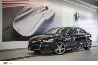 Used 2017 Audi A3 TECHNIK - 2.0 TFSI - AWD QUATTRO for sale in Sherbrooke, QC