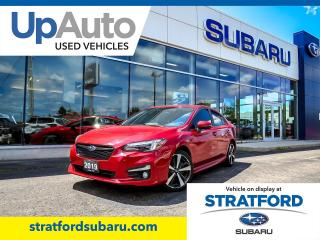 Used 2019 Subaru Impreza Sport-Tech w/ EyeSight for sale in Stratford, ON