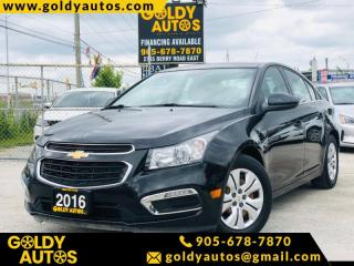 Used 2016 Chevrolet Cruze 4dr Sdn LT w/1LT for sale in Mississauga, ON
