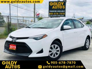 Used 2019 Toyota Corolla Base for sale in Mississauga, ON