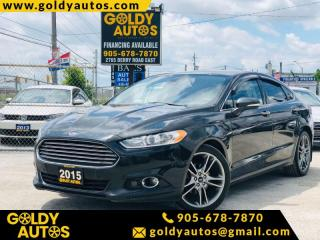 Used 2015 Ford Fusion Titanium AWD 4dr Sdn Titanium AWD for sale in Mississauga, ON
