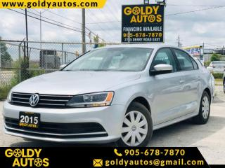 Used 2015 Volkswagen Jetta TRENDLINE+ for sale in Mississauga, ON