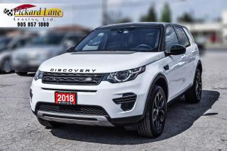 Used 2018 Land Rover Discovery Sport SE EXTENDED FACTORY WARRANTY! | 1 OWNER | ACCIDENT FREE for sale in Bolton, ON