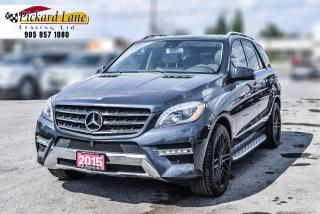 Used 2015 Mercedes-Benz ML-Class DIESEL! | 1 OWNER | ACCIDENT FREE! for sale in Bolton, ON