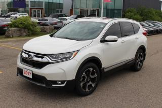 Used 2017 Honda CR-V Accident Free, One Owner CR-V Touring! Certified Powertrain Warranty Until 01/16/2024 or 160,000KM! for sale in Waterloo, ON