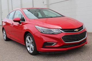 Used 2016 Chevrolet Cruze Premier Auto LOADED WITH FEATURES for sale in Regina, SK