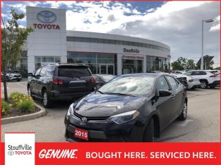 Used 2015 Toyota Corolla LE - BACKUP CAMERA - HEATED FRONT SEATS for sale in Stouffville, ON
