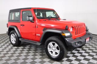 Used 2019 Jeep Wrangler Sport 2.0L 4CYL, 8 SPEED AUTO, 4X4 for sale in Huntsville, ON