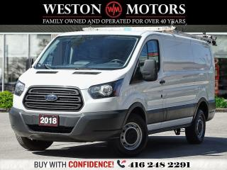 Used 2018 Ford Transit 250 LOW ROOF*SHELVING*REVCAMERA*ROOF RACKS!!* for sale in Toronto, ON