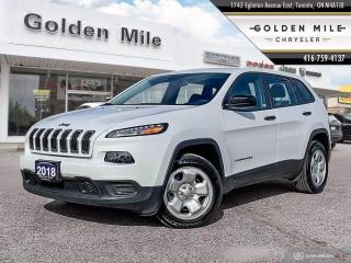 Used 2018 Jeep Cherokee Sport Ex-demo, Clean Carfax, Well Maintained for sale in North York, ON