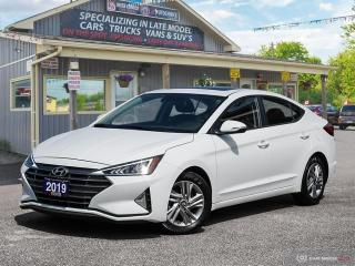 Used 2019 Hyundai Elantra Preferred,LOW KMS,PWR S/ROOF,R/V CAM,BLUETOOTH for sale in Orillia, ON